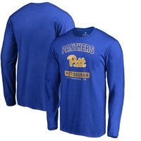 Pitt Panthers Fanatics Branded Campus Icon Long Sleeve T-Shirt - Royal