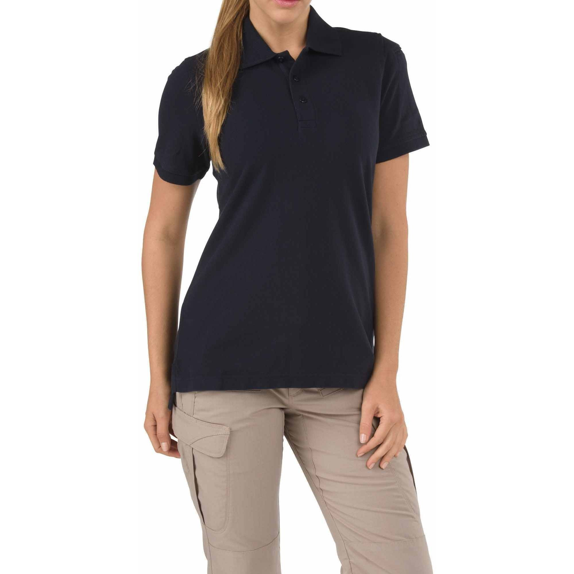 Women's Professional Polo Shirt, Dark Navy