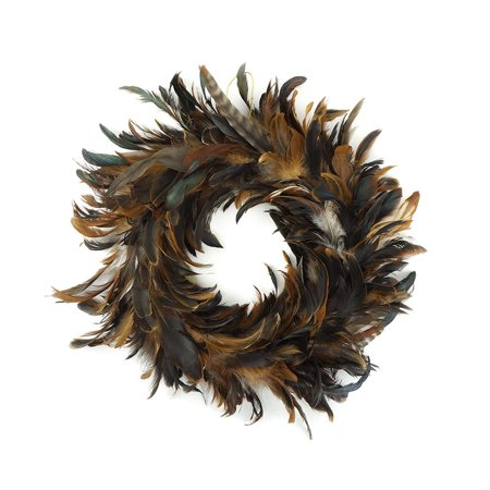 Feather Wreath (Zucker Feather Products Schlappen Feather Wreath - 11.5