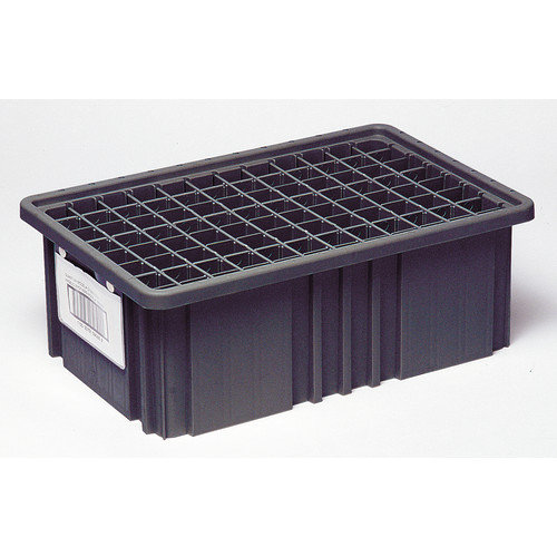 Quantum Storage Conductive Dividable Grid Storage Container Short Dividers for DG91035CO (Set of 6)