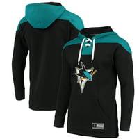 San Jose Sharks Fanatics Branded Franchise Pullover Hoodie - Black