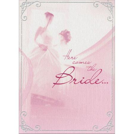 Avanti Press Bride Descend Stairs A*Press Bridal Shower Card