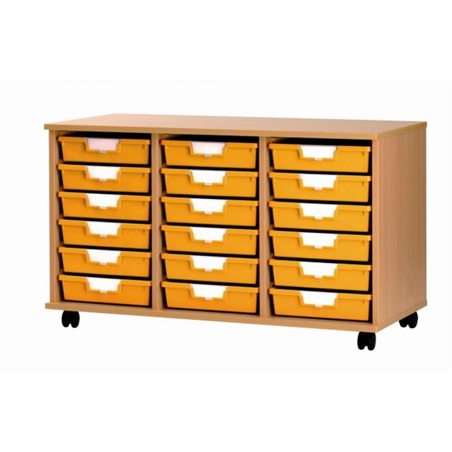 Certwood CE0087 SW 18 Tray -Low- Unit in Wood