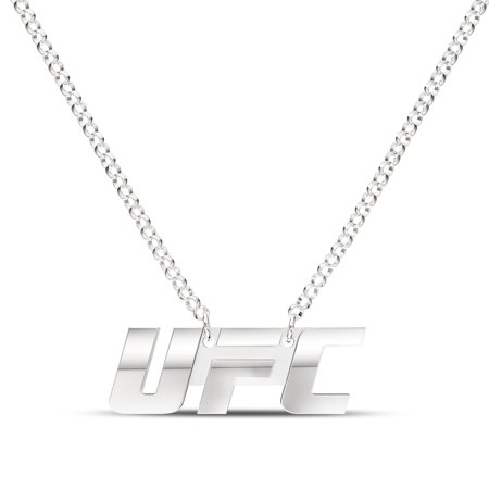 UFC - UFC Classics Signature Logo Necklace in Sterling Silver