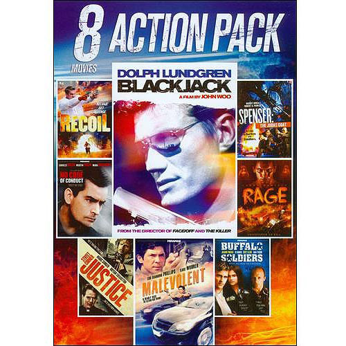 8-Movie Action Pack, Vol. 6