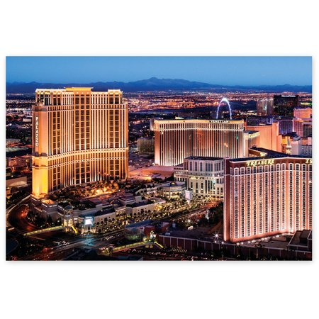 Awkward Styles Las Vegas City Lights American Trip Souvenirs for Art Lovers American Night View Unframed Poster Artwork Vintage Poster For Home Urban Poster Collection Printed Photo Artwork](Halloween City Jobs Las Vegas)