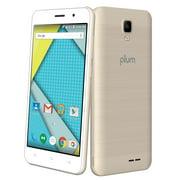 Plum Compass 2 - Unlocked 4G GSM Smart Phone Android 8.0 Quad Core Dual Camera ATT Tmobile Metro - Gold