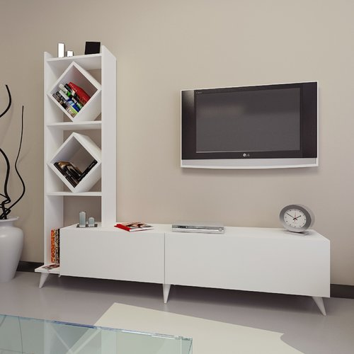 Wrought Studio Brister Entertainment Center for TVs up to 70''