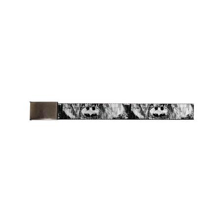 Batman DC Comics Superhero Dark Knight Sketch Web Belt Chrome](Kids Batman Utility Belt)