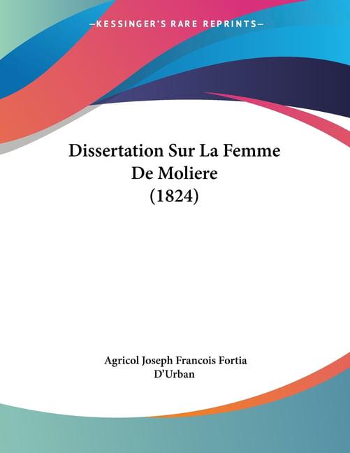 Dissertation de moliere