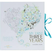 White Star Publishing Books My First Three Years Coloring Book, Boy