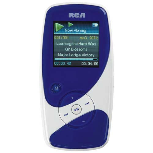 RCA M4002 Opal Series Mp3 Player With 1.5_Inch Oled (2 Gb)