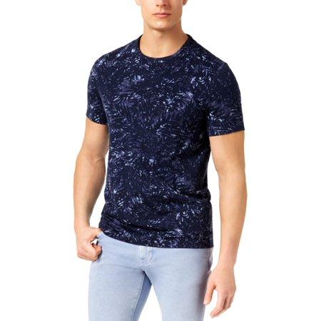 Michael Kors Mens Short Sleeves Crew Neck T-Shirt Navy S ()