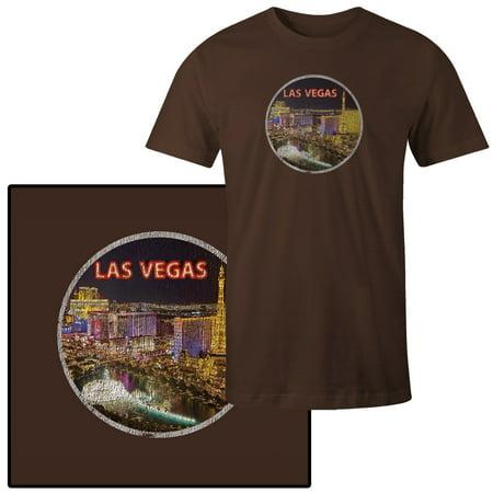 Men's Las Vegas Nevada Neon Sign Strip T-Shirt](Halloween Weather Las Vegas)
