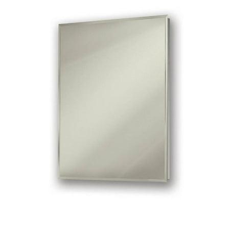 Broan Single Door Recessed Cabinets (Broan NuTone 530924 Simplicity Frameless Med. Cabinet, Single Door, Recessed Mount, 24