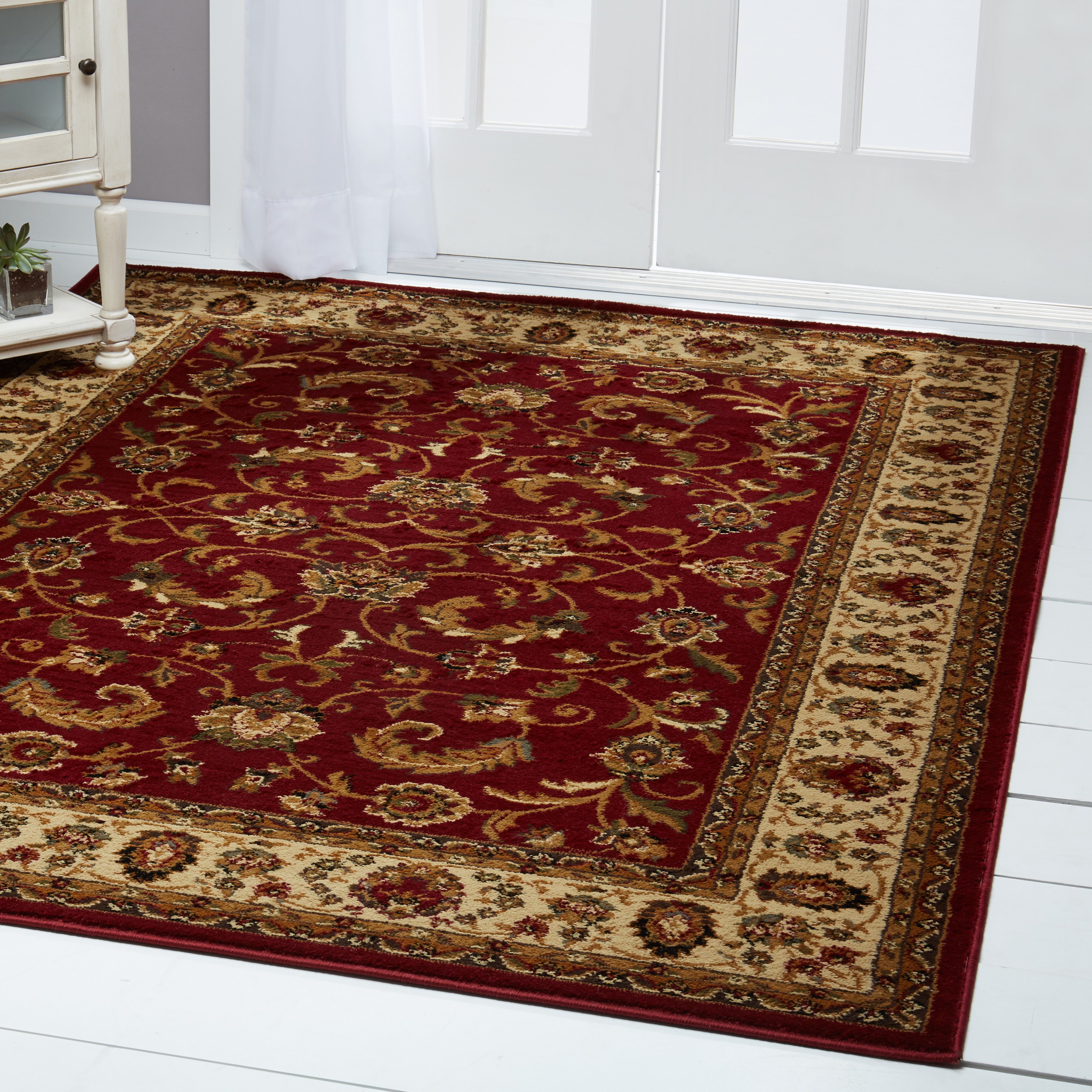 Home Dynamix Royalty Traditional Border Ivory Area Rug by Home Dynamix