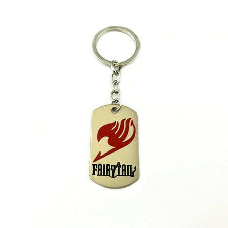 Fairy Tail Keychain Key Ring Anime Manga Game Gaming Auto/Boat House Keys - Fairy Tail Halloween Gray