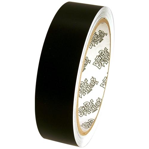 "Tape Planet 3 mil 1"" x 10 yard Roll Black Matte Outdoor Vinyl Tape"