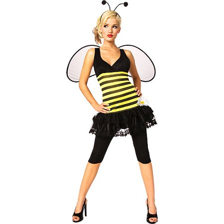 Sweet as Honey Bumble Bee Adult Halloween Costume - Male Bee Costume