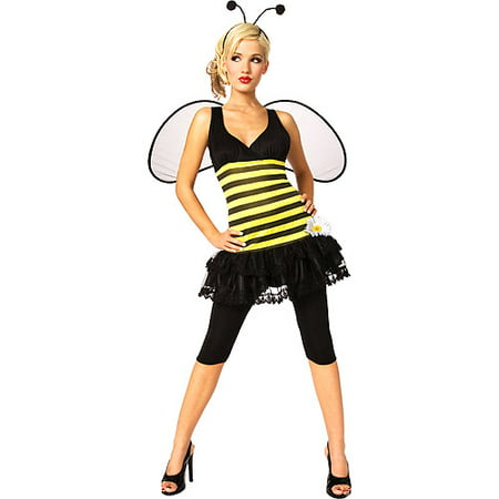 Sweet as Honey Bumble Bee Adult Halloween Costume - Honey Pot Costume
