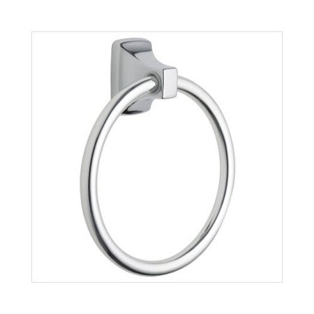 - Creative Specialties by Moen Contemporary Towel Ring in Triple Plated Polished Chrome