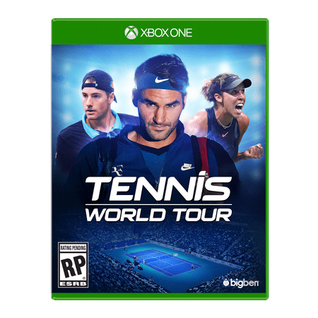 BigBen Interactive Tennis World Tour, Maximum Games, Xbox One, 814290014322