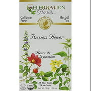 Celebration Herbals Passion Flower Tea Bags, 24 Count