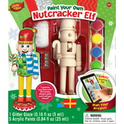 MasterPieces Works of Ahhh Wood Nutcracker Elf Holiday Paint Kit, 1 Each