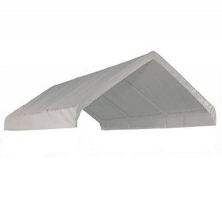Shelterlogic 10x20 Canopy Replacement Cover For 1 3 8 Frame White Walmart Com Walmart Com