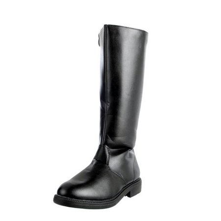 Funtasma Jedi Renaissance Boots Assorted Colors CAPTAIN-100 - Black,Small 8-9 ()