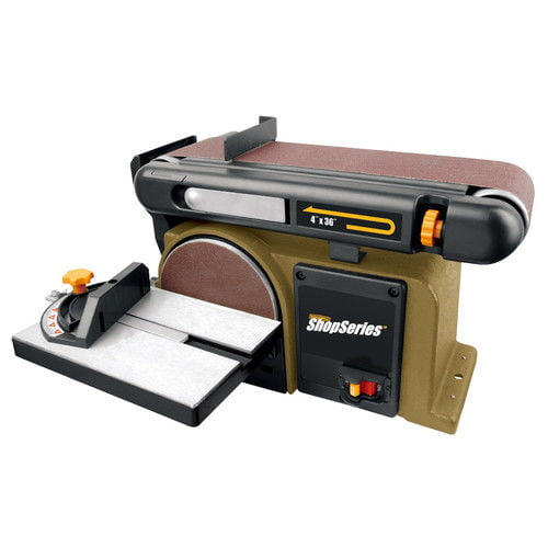 Rockwell RK7866 Combination 4 in. x 36 in. Belt and 6 in. Disc Sander by Positec Technology