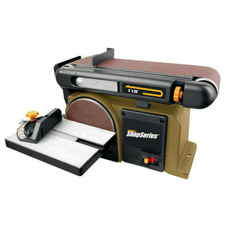 Rockwell Rk7866 Combination 4 In  X 36 In  Belt And 6 In  Disc Sander