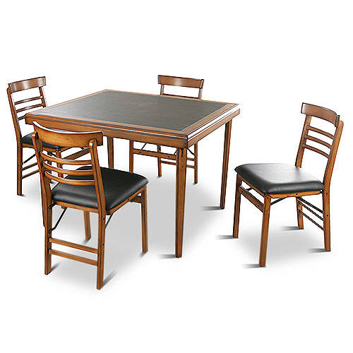 Vintage 5 Piece Folding Table and Chairs Set