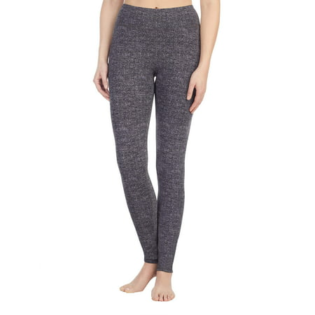 Women's Reversible Brushed Comfort Warm Underwear Legging - Digital Duds