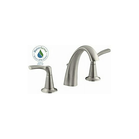 KOHLER/STERLING R37026-4D-BN Nickle 8/16 Wide Lav Faucet