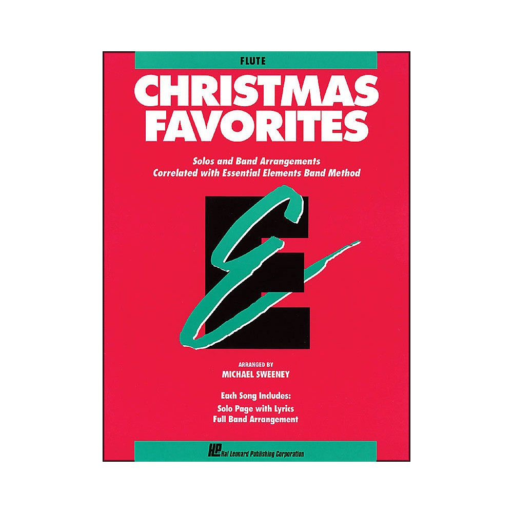 Hal Leonard Essential Elements Christmas Favorites Flute