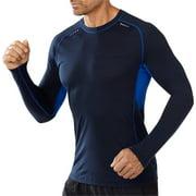 Smartwool PhD Ultra Light Men's Long Sleeve T-Shirt: Blue MD