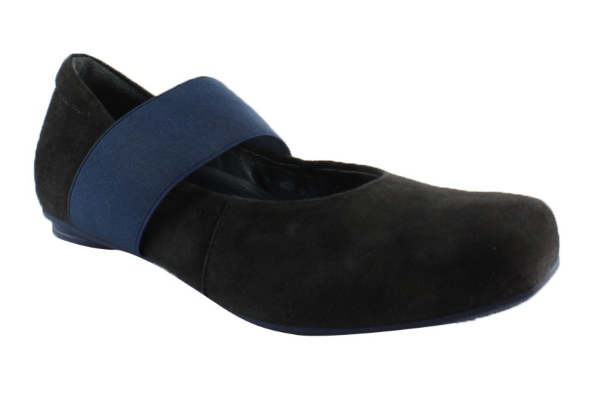 New Think! Womens 85199-09-001 Black Mary Janes Size 5 by Think!