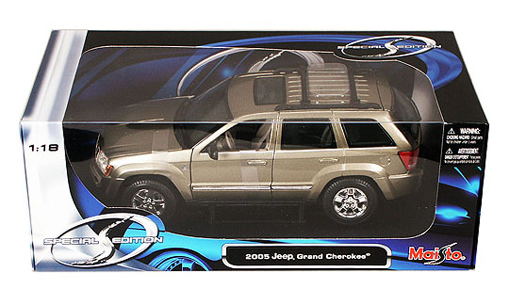 Jeep Grand Cherokee SUV, Khaki Maisto Special Edition 31119 1 18 Scale Diecast Model Toy... by Maisto