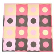 Sleeping Partners cpmsev429 Tadpoles Playmat Set  Pink/Brown