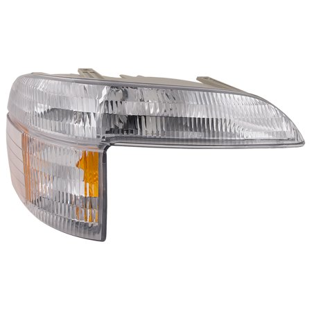 (1995-2001 Ford Explorer/2001 Sport Trac/1997 Mercury Mountaineer Passenger Side Right Park Signal Light Assembly FO2521130)