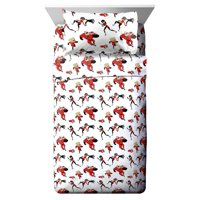 The Incredibles 2 Super Family Twin Sheet Set