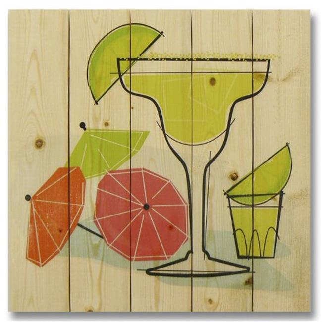 Wile E. Wood WHRM1717 17 x 17 Summer Margaritas Wood Art - image 1 de 1