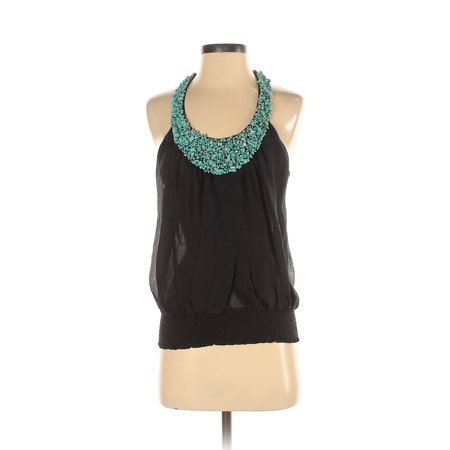 Pre-Owned Bebe Women's Size S Sleeveless Silk Top