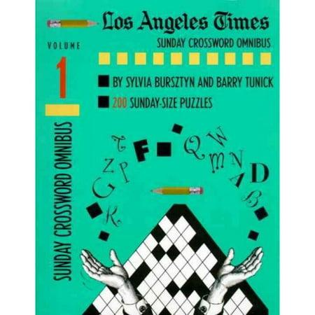 Los Angeles Times Sunday Crossword Omnibus
