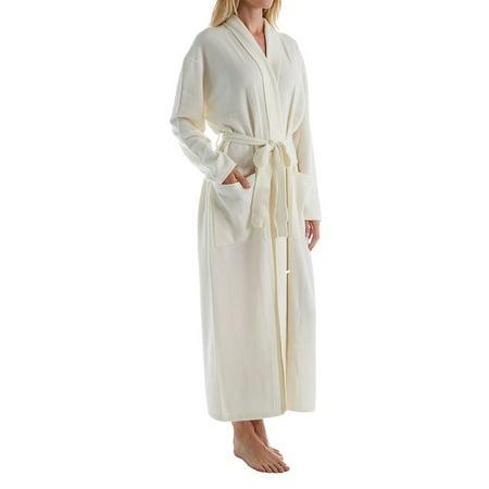 Cashmere Womens Robe - Arlotta 2011 Cashmere Classic Long Robe With Shawl Collar