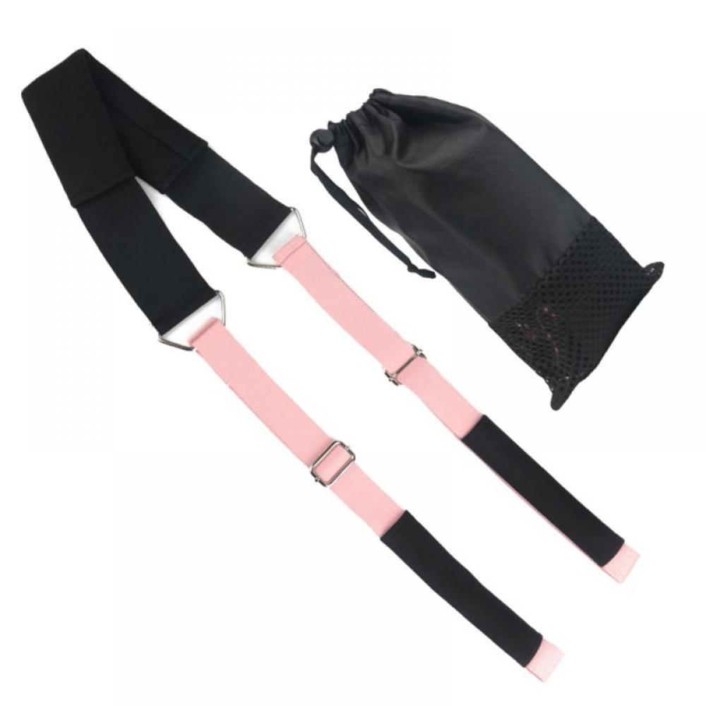 Details about  /Waist Back Leg Stretch Strap//Band,Yoga Fitness Band Leg Stretching Assist