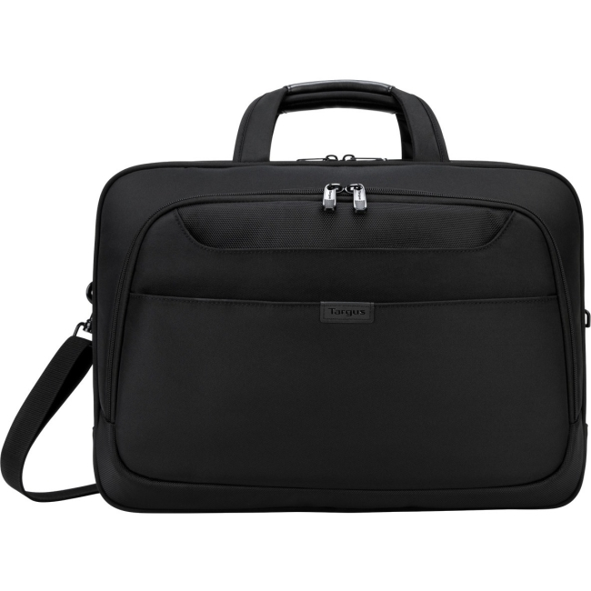 """Targus TBT275 Blacktop Deluxe Checkpoint-Friendly Briefcase with DOME Protection for 17"""" Laptop, Black by Targus"""