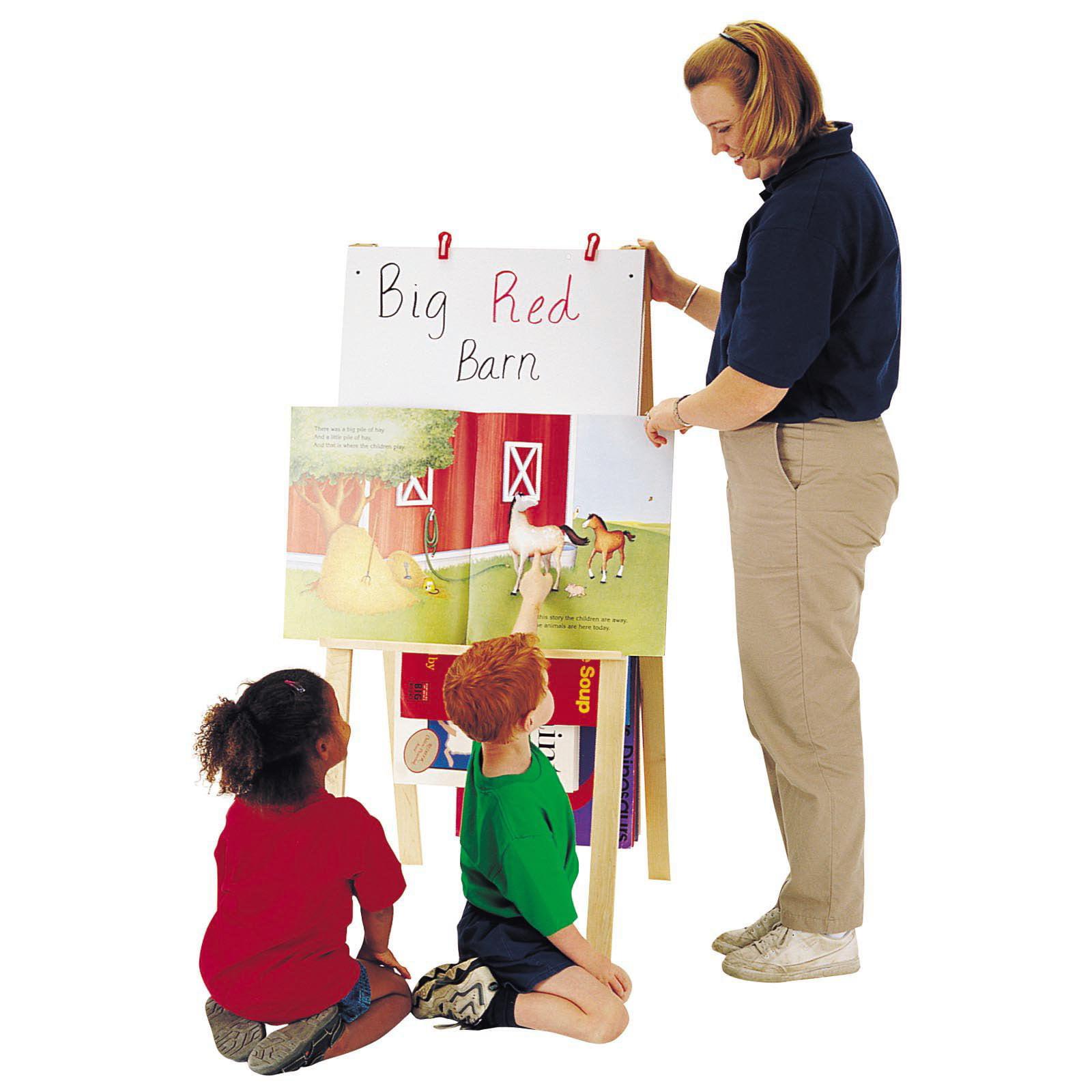 Jonti-Craft Teacher Childrens Easel-Standard