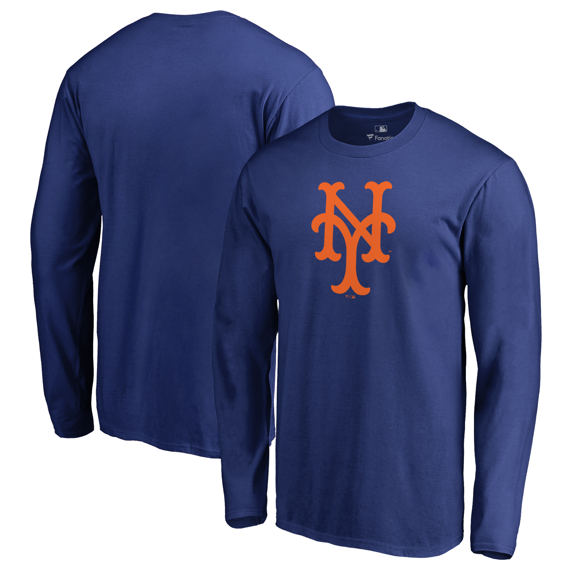 New York Mets Fanatics Branded Cooperstown Collection Huntington Long Sleeve T-Shirt - Royal